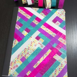 DIY Washi Tape Notebook Tutorial VIDEO
