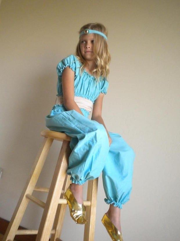 DIY Jasmine Costume