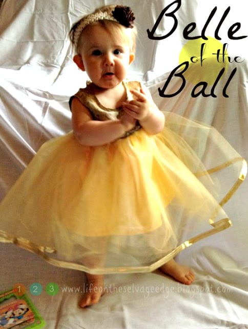 DIY Disney Belle Costume