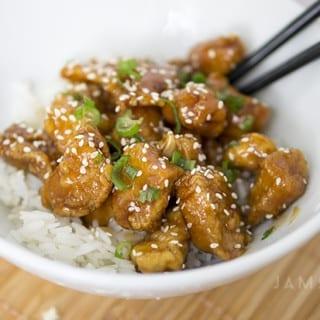 Ginger Sesame Chicken Recipe