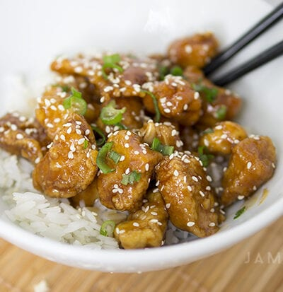 Ginger Sesame Chicken Recipe