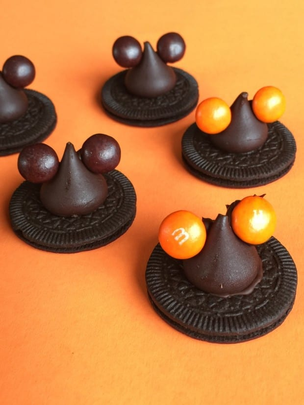 Disney Halloween Mickey Ear Witch Hat Cookies
