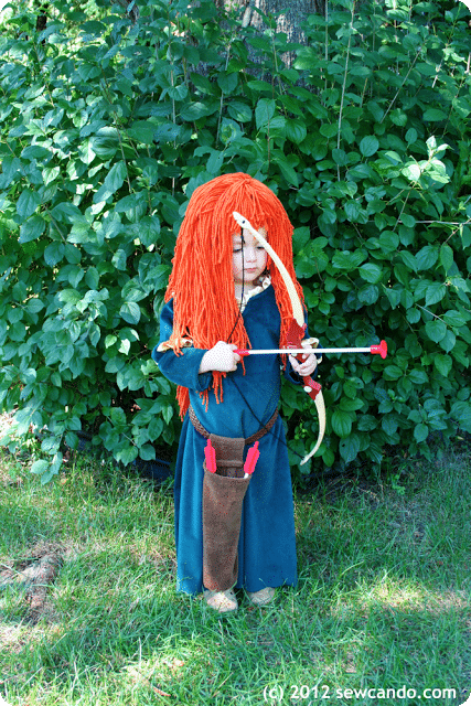DIY Merida Costume