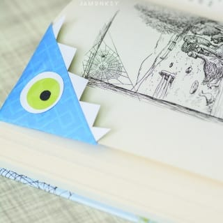 Monster Bookmark Tutorial