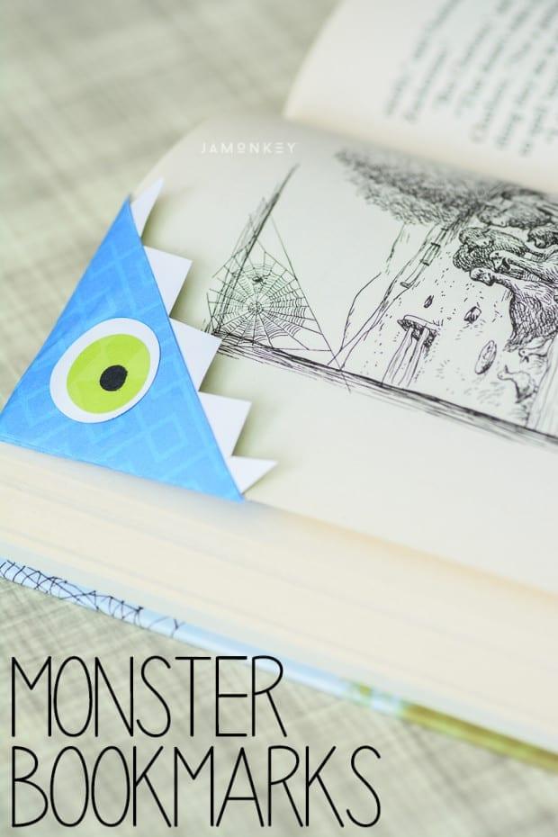 Monster Bookmarks Tutorial