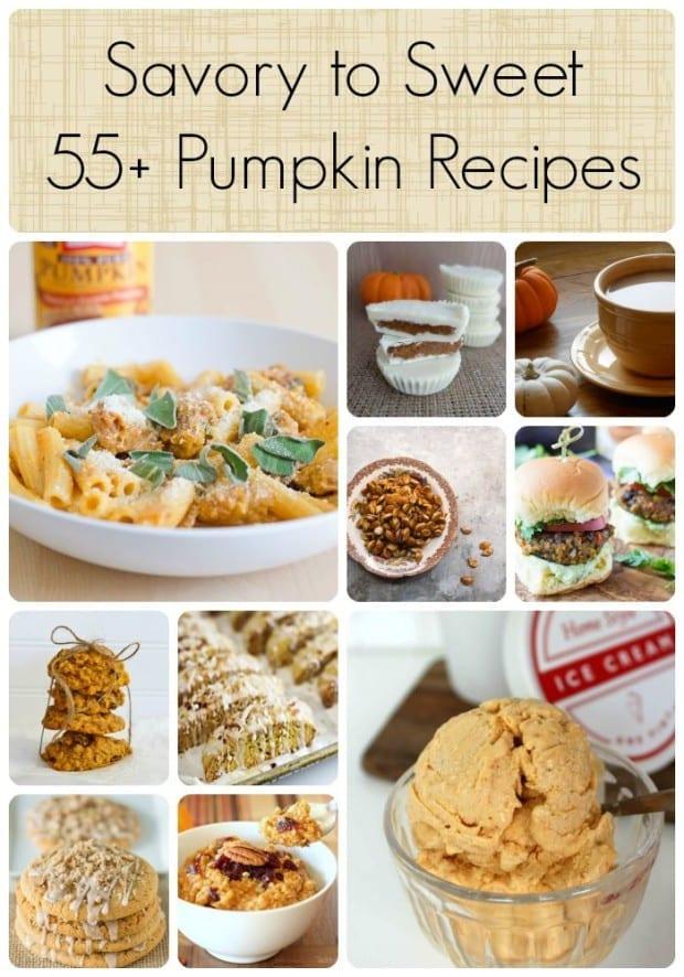 55+ Savory to Sweet Pumpkin Recipes