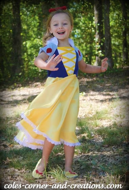 DIY Snow White Costume