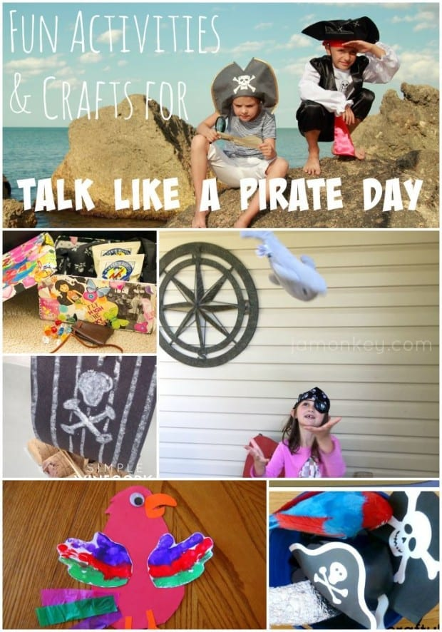 Fun Activities and Crafts for Talk Like a Pirate Day