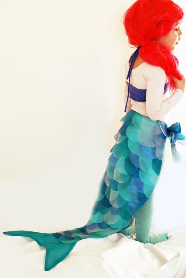 DIY Disney Ariel Mermaid Costume