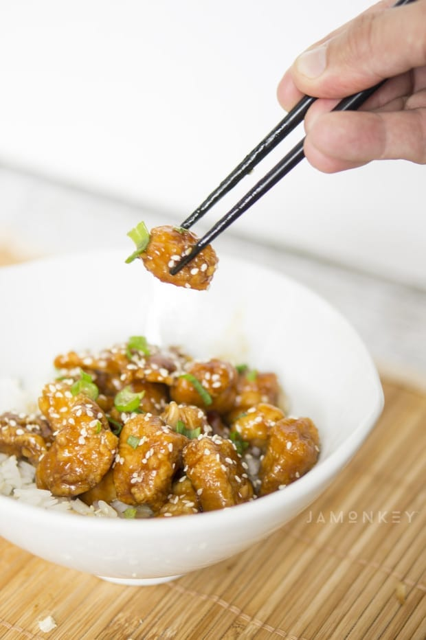 Ginger Sesame Chicken
