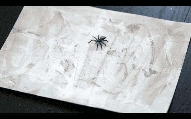 Surprise Watercolor Spider Webs VIDEO