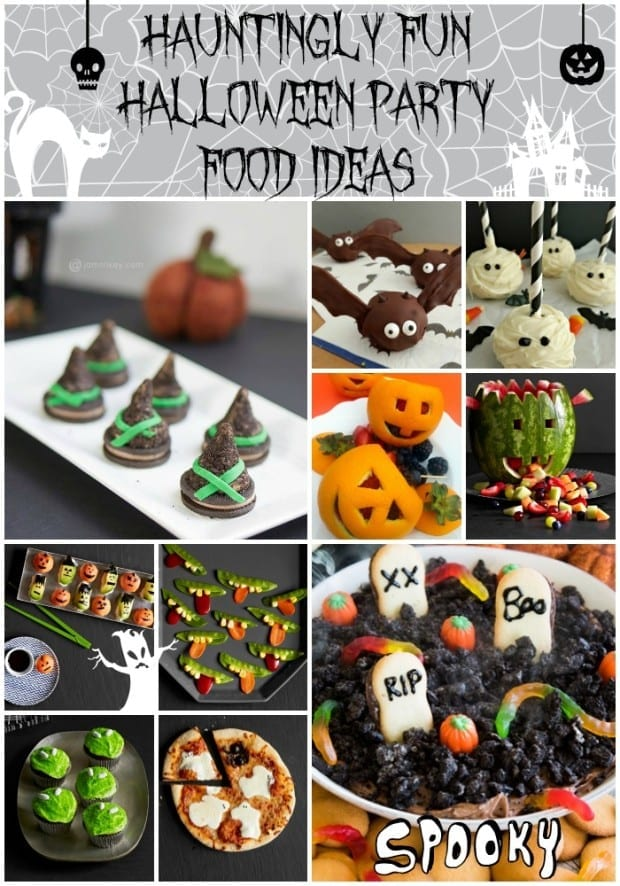 Hauntingly Fun Halloween Party Food - JaMonkey