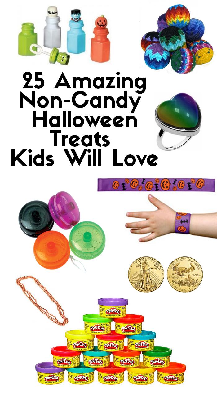 25 Amazing Non-Candy Halloween Treats Kids Will Love