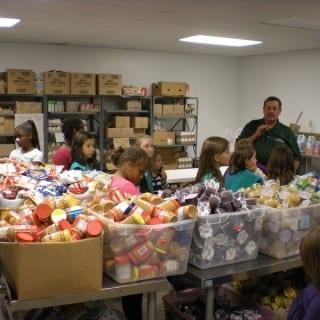 Volunteering For Thanksgiving