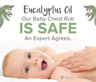 A Vapor Rub That is Safe for Babies