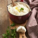 Greek Yogurt Garlic Mashed Potatoes