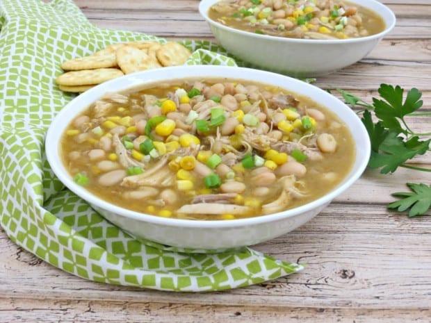 Green Chile Turkey & Bean Soup