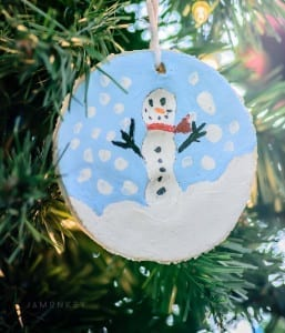 Snowman Ornament - Kids Craft
