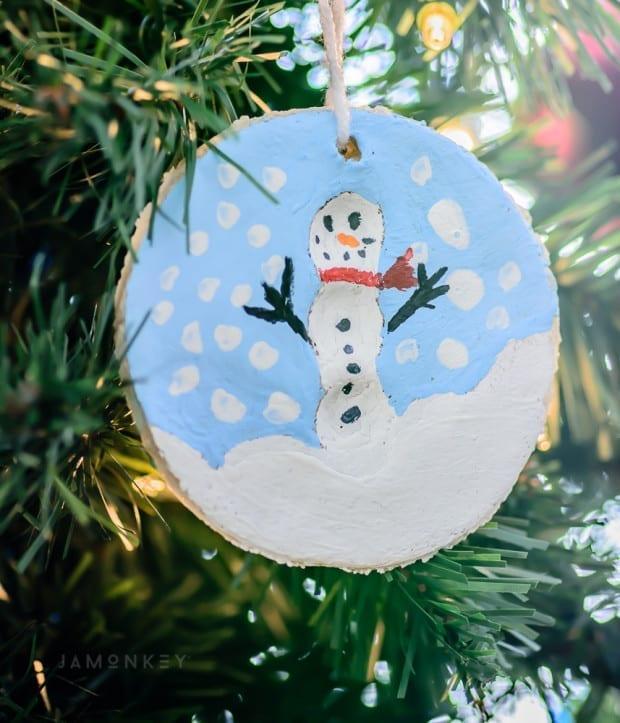 Snowman Ornament - Kids Craft