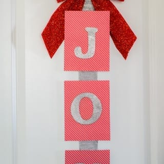 DIY Joy Sign