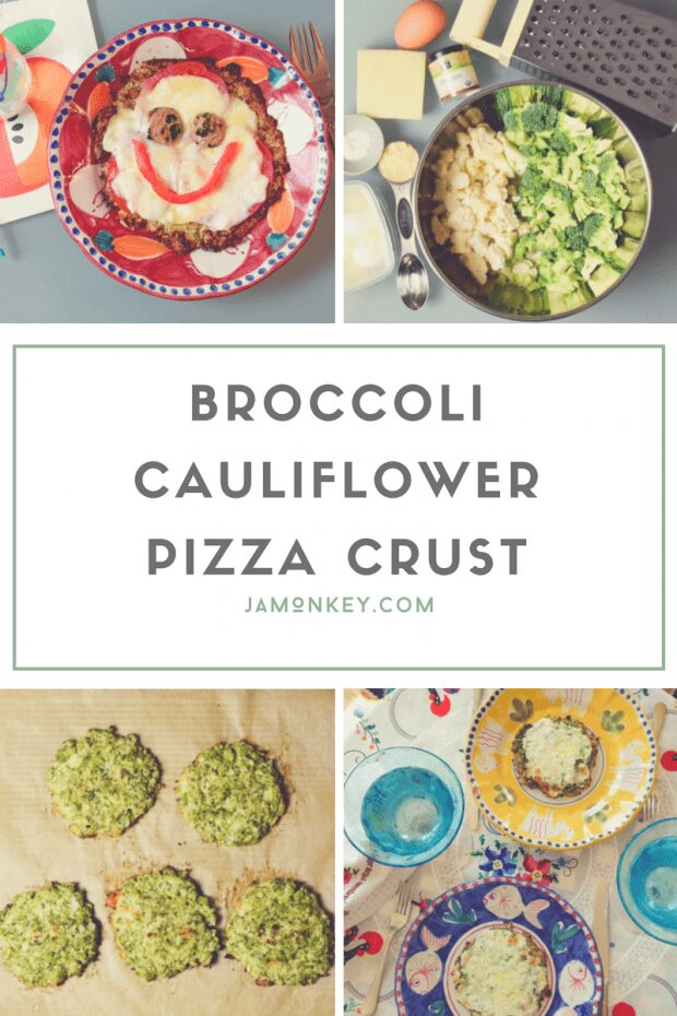 Broccoli Cauliflower Pizza Crust Recipe