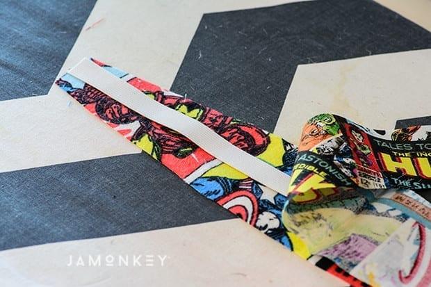 DIY Reversible Super Hero Headband