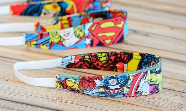 DIY Super Hero Headband