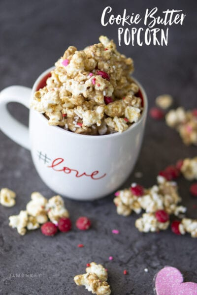 Cookie Butter Popcorn