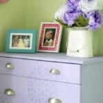 Little Girl Dresser Makeover