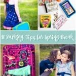 10 Packing Tips for Spring Break with Kids