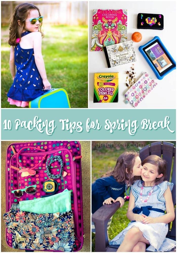 10 Packing Tips for Spring Break