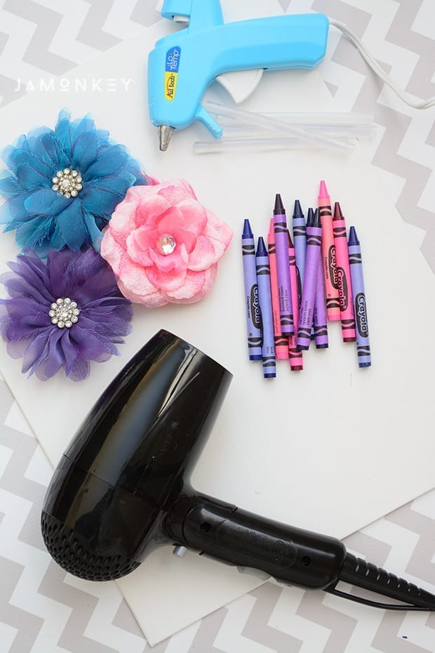 Crayon Flowers-2150