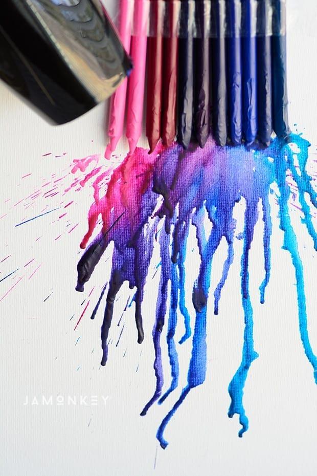 Crayon Flowers-2161