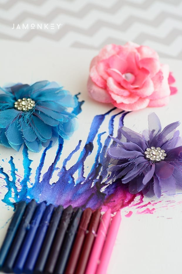 Crayon Flowers-2166