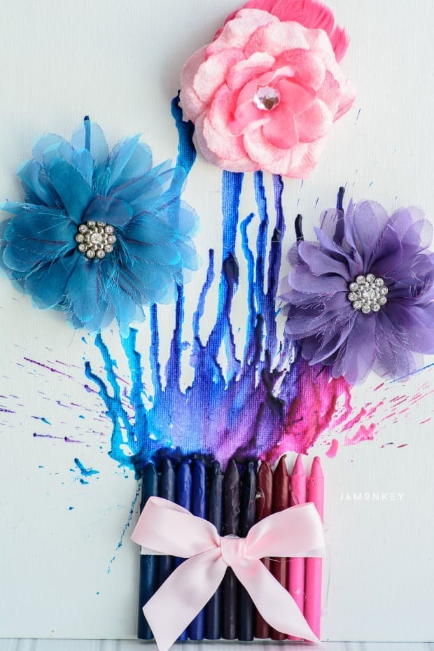 Crayon Flowers-2167