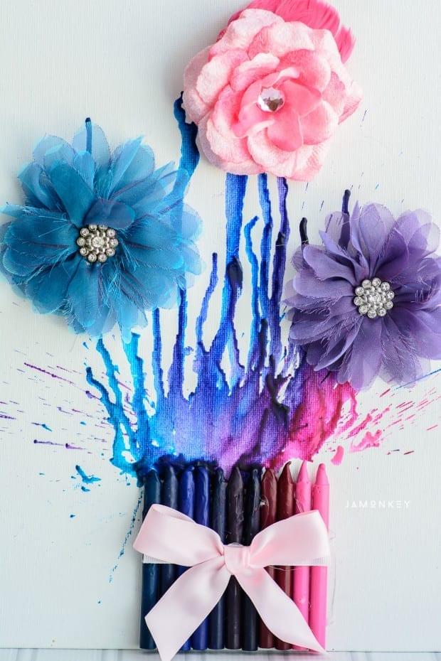 Crayon Flowers-2167