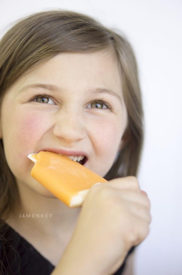 Healthy Homemade Creamsicles
