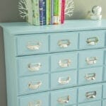 DIY Card Catalog Dresser