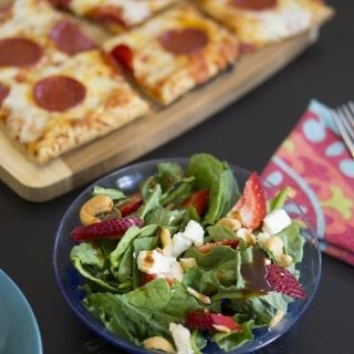 Family Game Night with a Power Greens Salad