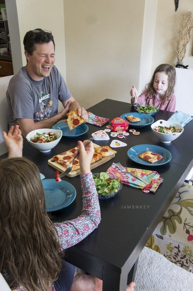 Family Game Night with Power Greens