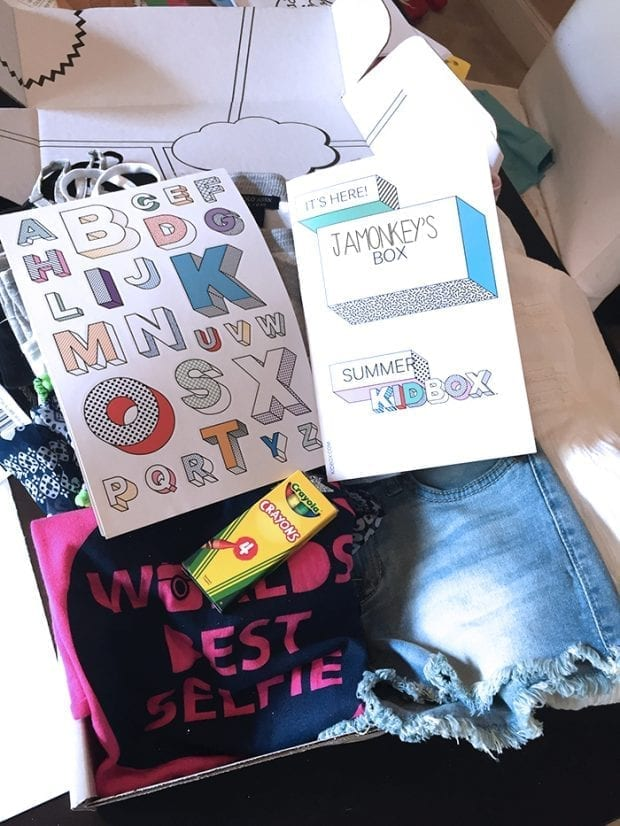 Awesome Kids Clothes Box - Kidbox Review