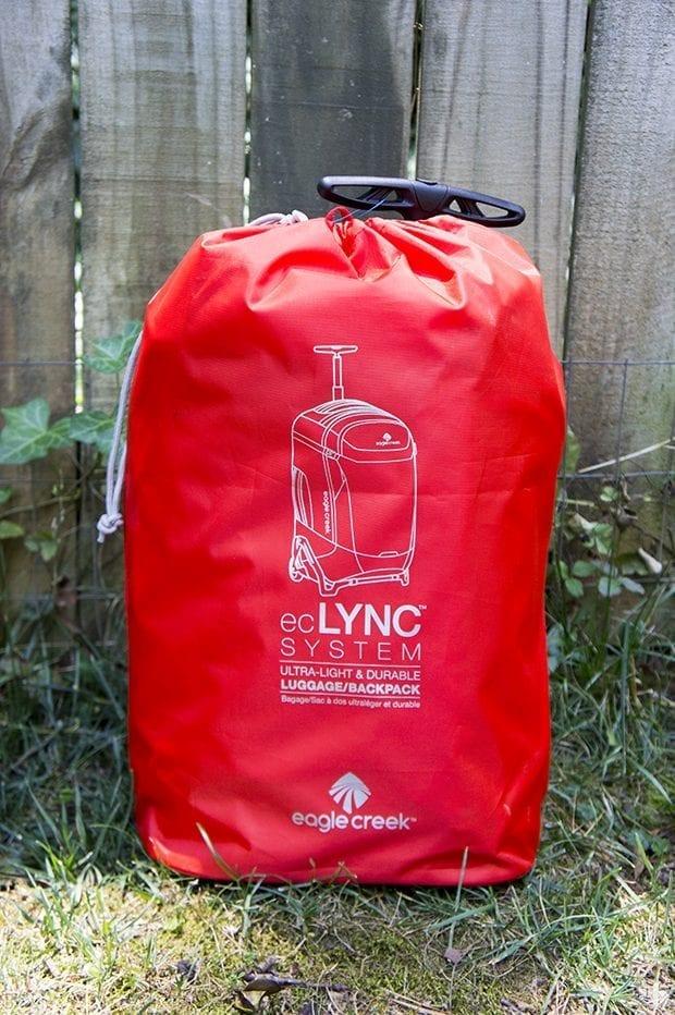 "Orange Eagle Creek 20"" Lync 2-Wheeled Luggage"