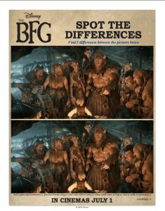 The BFG Coloring and Activity Sheets
