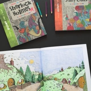 Geektastic Adult Coloring Books