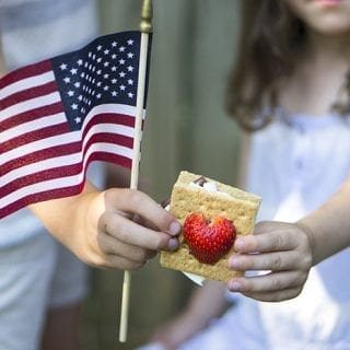 Share S'more Love with Team USA – Strawberry S'mores