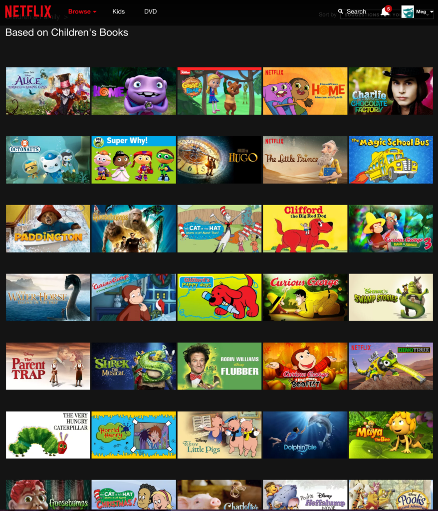 Shows and movies to stream on netflix based on children 39 s - Home shows on netflix ...