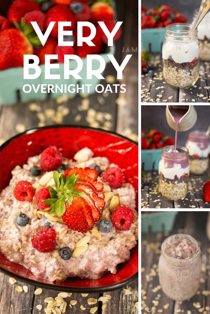Very Berry Overnight Oats