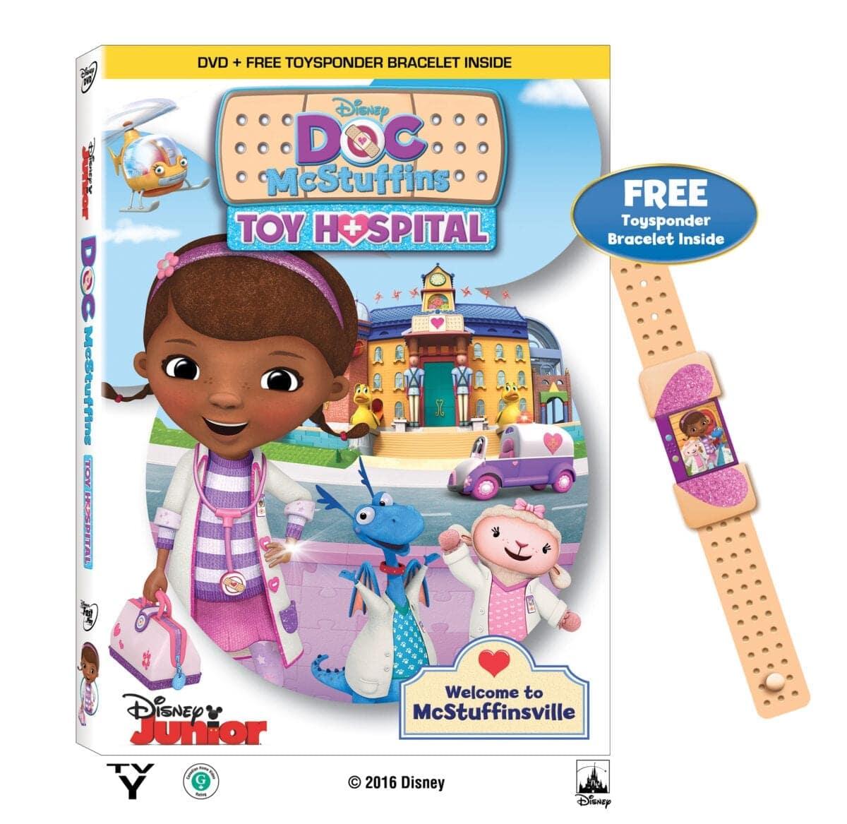 Doc Mcstuffins Toys : Doc mcstuffins toy hospital win a copy — jamonkey