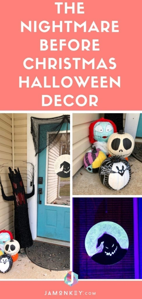 The Nightmare Before Christmas Halloween Decor