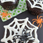 Chocolate Spider Cupcakes – Free Template Download